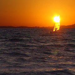 """фото """"Windsurfing the Sun"""""""