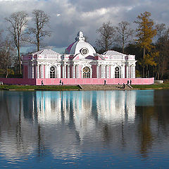 """photo """"A pond #2 in the park of Pushkin"""""""