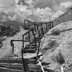 "photo ""Stairs to Nowhere"""