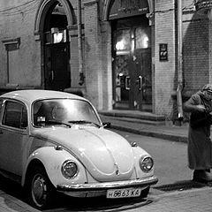 """фото """"Этюд со старым """"VW"""""""""""