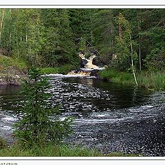 """photo """"Secluded place of the river"""""""