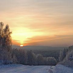 """фото """"Зимний рассвет"""""""