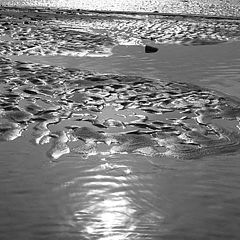 "photo ""sand & water waves"""
