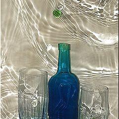 """фото """"Blue bottle"""""""