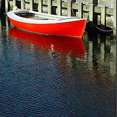 """фото """"Red boat"""""""