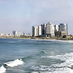 "photo ""The landscape of Tel Aviv which opens from a place"""