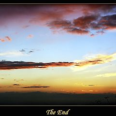 "photo ""The End"""