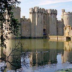 """фото """"The Bodiam Castle"""""""
