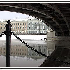"photo ""Aspect from under the bridge"""