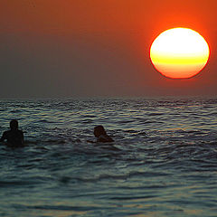 """фото """"Surfing at the end of the day"""""""