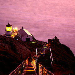 "фото ""Point Reyes Lighthouse"""