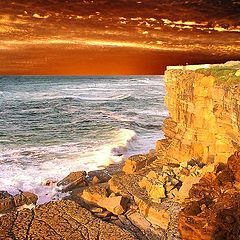 "фото ""Golden Cliff"""