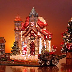 "photo ""Santa Claus House"""
