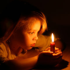 """photo """"Candle Magic."""""""