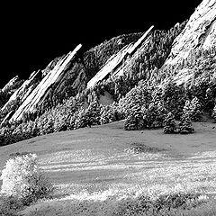 "фото ""Sunrise In Black & White"""