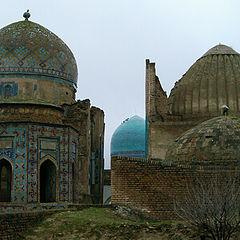 """photo """"Winter in Samarkand. Shahizinda"""""""