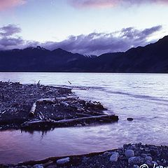 "фото ""Kluane Lake, Yukon Territories"""