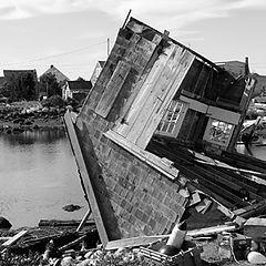 """фото """"ураган в Галифаксе"""""""