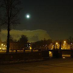 """фото """"ночью у Никольского"""""""