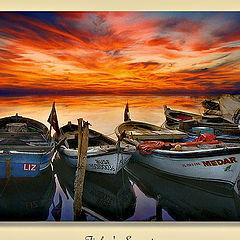 "фото ""Fisher`s sunset"""