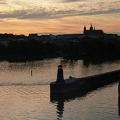 """фото """"Soft and gentle evening in Prague."""""""