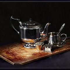"фото ""В ожидании зеленого чая"""