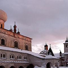 """фото """"вечер в монастыре"""""""