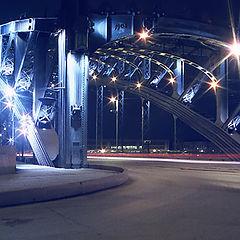 "фото ""Большой Охтинский мост"""