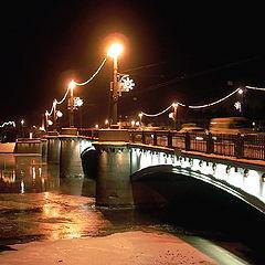 """фото """"Night bridge."""""""