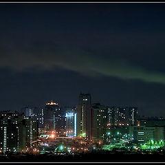 """фото """"""""Ночь над мегаполисом"""""""""""