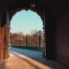 "фото ""The way out... (Petropavlovskaja fortress)"""