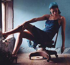 "photo ""Blue dress"""