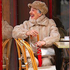 """фото """"Счастливая парижанка"""""""
