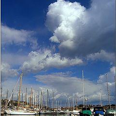 "фото ""Весенний яхтпорт Villefrance-Sur-Mer"""