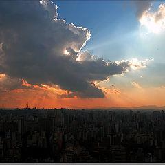 "photo ""Divine Rays"""