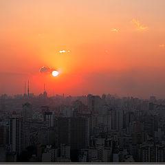 """photo """"Sampa`s sunset"""""""