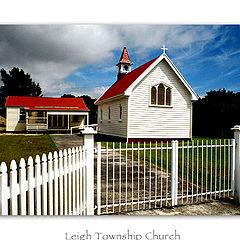"""photo """"Leigh Township Church"""""""