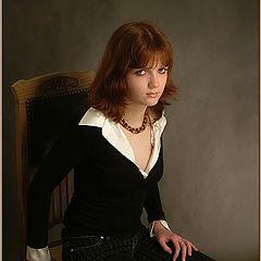 """фото """"Настороженный портрет"""""""