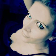 """фото """"Never blue"""""""