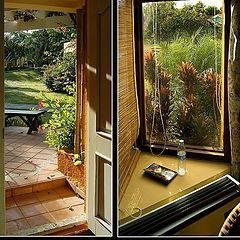 """фото """"Диптих - окно и дверь"""""""