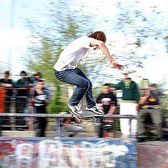 """photo """"Skateboard paning (vans team europe)"""""""