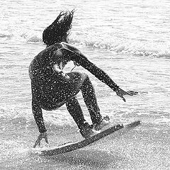 "фото ""funny surfing"""