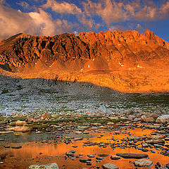 "фото ""Golden Light, Mt. Humphreys"""