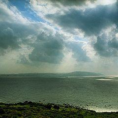 """фото """"Тревожное небо над Гибралтаром"""""""