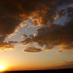 "photo ""The tired sun"""