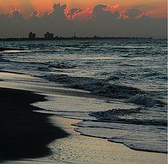 "фото ""Sunset & surf"""