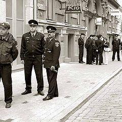 """фото """"полицейский этюд"""""""