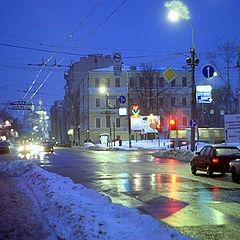 """фото """"Вечер. Зима. Москва."""""""
