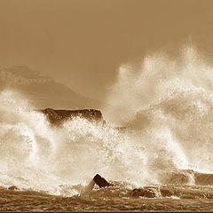 """photo """"Oceanic fury"""""""