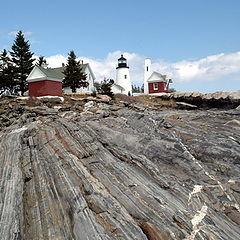 """photo """"New England lighthouse"""""""